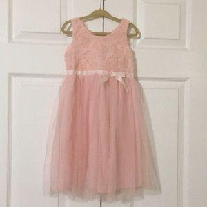 Zunie Pink Dress.  Girls 4T